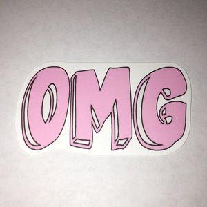 Other - Pink OMG Sticker